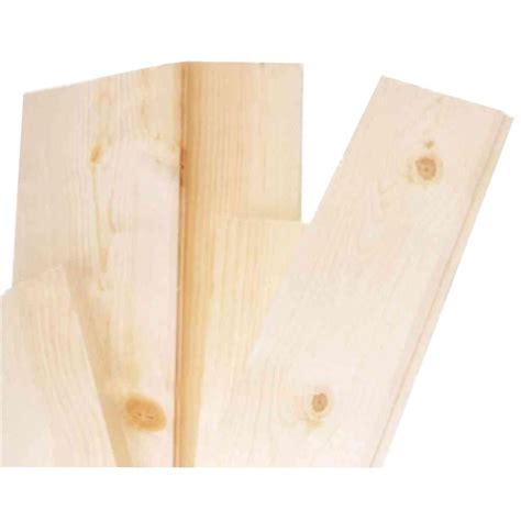 1 in x 6 in x 12 ft actual 06562 in x 55 in x 12 ft tongue and groove pattern 1 in x 12 in x 4 ft pine common board 458503 the home depot