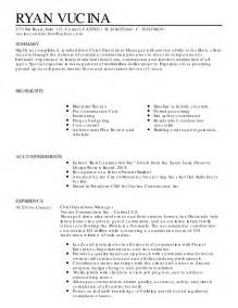Resume Draft Template by Draft Vucina Resume 4