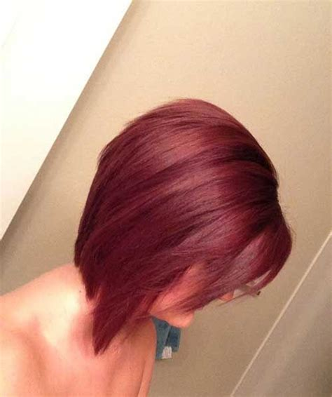 stacked bob haircuts dyed red 25 brief inverted bob hairstyles short hair hairstyles