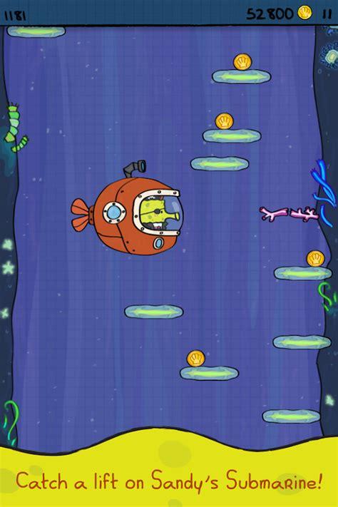 doodle jump zip doodle jump spongebob v1 0 mod money for android