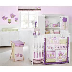 Purple and green crib bedding sets xtubtf bed amp bath