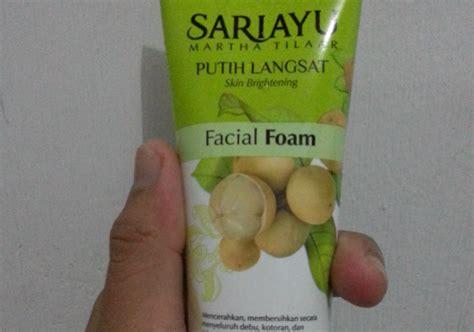 Pelembab Moisturizer Sariayu sariayu putih langsat pembersih wajah dan pelembab wajah