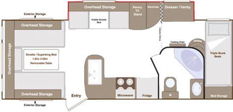 Chalet Floor Plans slide out caravans by eterniti ec2 26 ib4 and ec2 26 bb6
