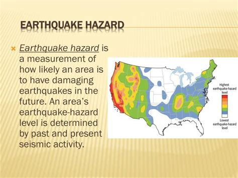 earthquake hazards ppt the focus and epicenter of an earthquake powerpoint