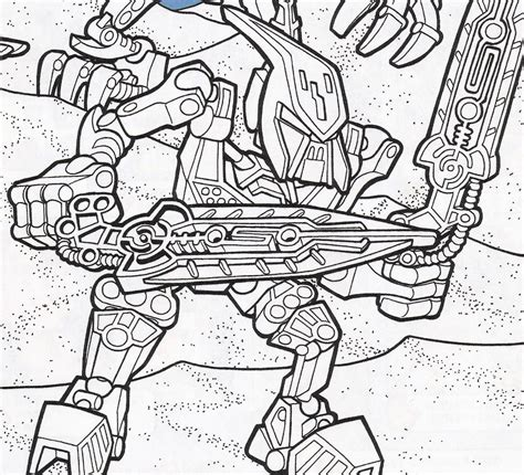Free Coloring Pages Of Do Bionicle Bionicle Coloring Pages