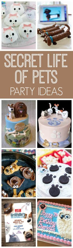 secret life  pets party ideas pretty  party