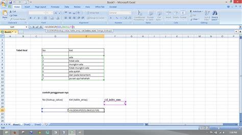 tutorial menggunakan vlookup menggunakan rumus vlookup excel cad of autocad