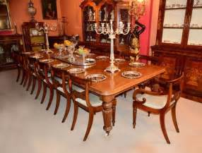 12 Foot Dining Room Tables Antique 12ft Mahogany Dining Table C 1850 And 16 Chairs At