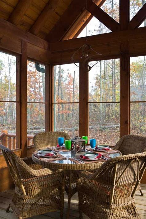 cabin floor plans with screened porch pinterest the world s catalog of ideas