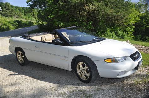 1999 Chrysler Sebring by 1999 Chrysler Sebring Pictures Cargurus