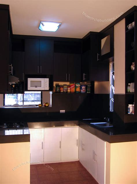 Simple Kitchen Ideas For Small Spaces by Small Space Kitchen Cabinet Design Cavite Philippines