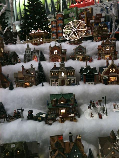 christmas village setup  miniature christmas village