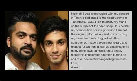 song by anirudh beep song anirudh ravichander says he hasn t composed the