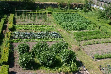 kitchen gardens design cormiston farm two acres of grounds around the 4 star b
