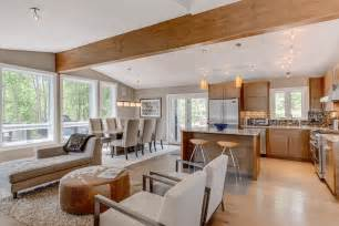 open floor plans a trend for modern living interior