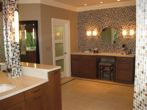 mosaic wall bathroom glass mosaic tile wall contemporary bathroom