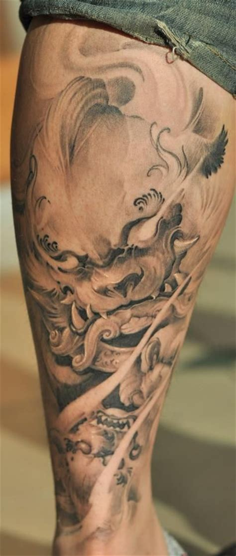 chronic ink tattoo zeke cane foo tatuaggi di cane and tatuaggi con inchiostro on