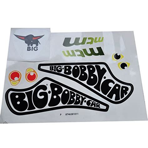 Bobby Car Aufkleber Individuell by Big Bobby Car Stickers Aufklebersatz Classic Racer
