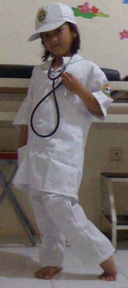 Baju Perawatbaju Susterbaju Profesi Usia 8 12 Tahun gerai anak baju dokter anak