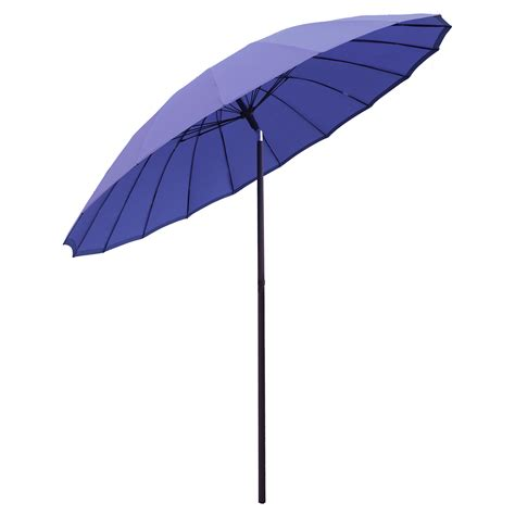 Patio Sun Umbrellas New 2 5m Tilting Shanghai Parasol Umbrella Sun Shade For Garden Patio Furniture