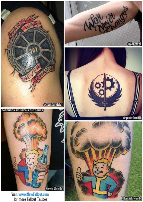 fallout tattoo best 20 tattoos ideas on tattoos
