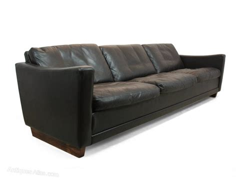 dark brown leather couches antiques atlas danish dark brown leather sofa c1960