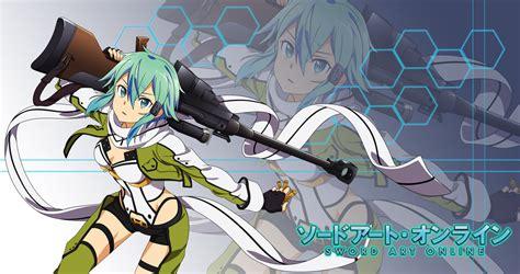 wallpaper anime sao anime wallpaper fan made sao ii sinon by fireptile on