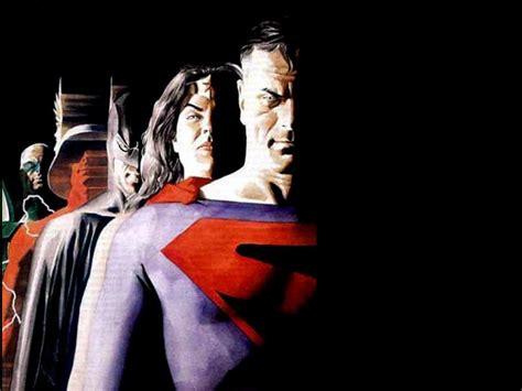 Kaos Superman Logo Alex Ross alex ross wallpapers wallpaper cave