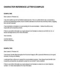 sle character reference letter potential tenant reference letter character and letters on