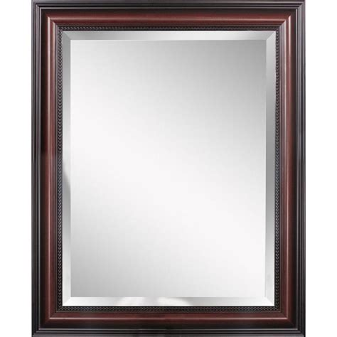 42 bathroom mirror deco mirror traditional 30 in x 42 in single framed wall