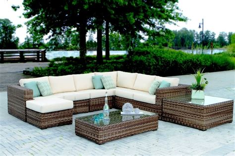 Woven Patio Furniture by Synthetic Wicker Woven Furniture On Island Ny