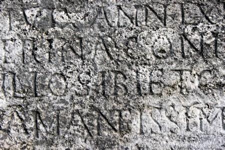 lettere romane trama di lettere romane foto stock 2085447