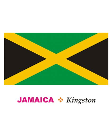 jamaica flag color jamaica flag coloring pages for to color and print