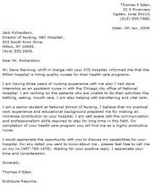 cover letter for ain nursing nursing cover letter exles cover letter now