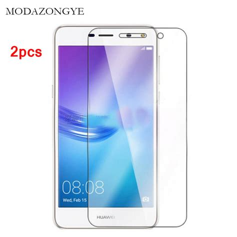 Tempered Glass Huawei Y6 2pcs Tempered Glass Huawei Y6 2017 Screen Protector Huawei Y6 2017 Screen Protector Glass