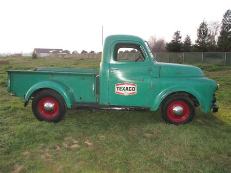 Classic Car Seat Upholstery 1951 Dodge Pickup Truck B Series Texaco Shop Truck