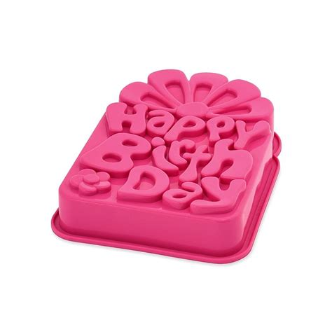 Cetakan Silicon Happy Birthday moule silicone quot happy birthday quot pavonidea