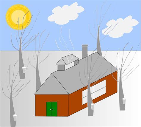 Clipart   cabane à sucre