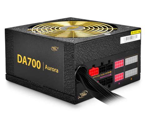 Deepcool Da Series Da700 700w 80 Plus Bronze Psu da700 deepcool da