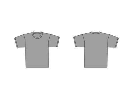 Blank T Shirt Template Clip Art 59 Grey T Shirt Template