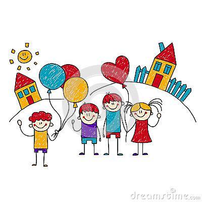 immagini clipart bambini immagine dei bambini felici della scuola illustrazione di