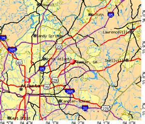 tucker map tucker ga 30084 profile population maps real