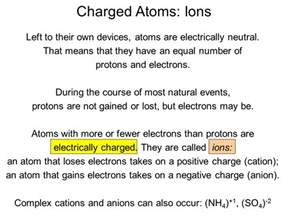 List The Properties Of Protons Neutrons And Electrons Charged Atoms Ions Sliderbase