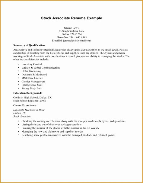 Resume Exles For Work Experience by How To Write Work Experience In Resume 28 Images 6 How