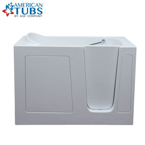 best rated walk in bathtubs care series 2852 soaker walk in tub american tubs