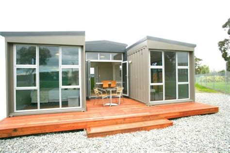 Single Level Tiny House life in a container house stuff co nz