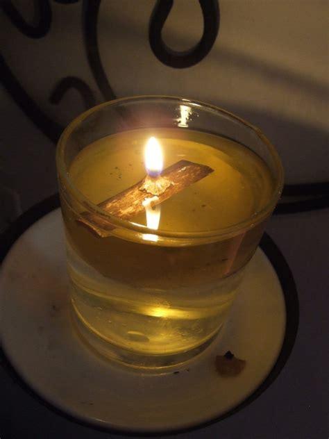 come fare uno stoppino per lade ad olio usare candele profumate durante gli incantesimi o i