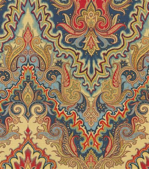 paisley home decor waverly print fabric paisley verse jewel paisley home decor and color combinations