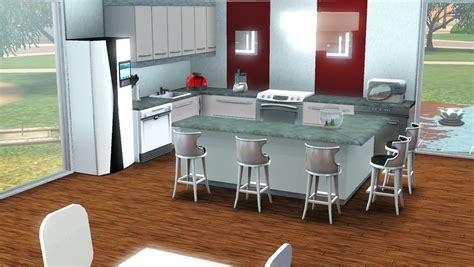 maison de sims white sun maison moderne sims 3