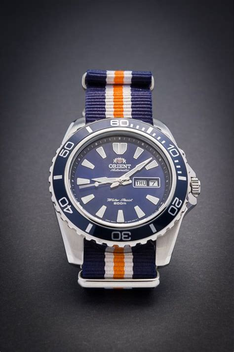 Orient Mako Xl Blue Fem75002dr Original Bergaransi 181 best images about watches on weekender stainless steel and leather watches